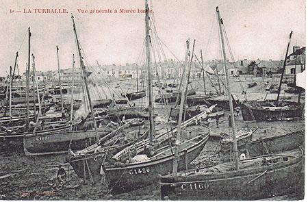 La port à marée basse