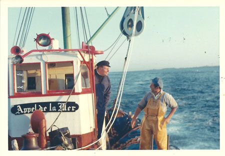 A bord de l'Appel de la Mer