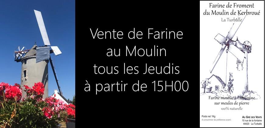 Vente de Farine en direct du moulin